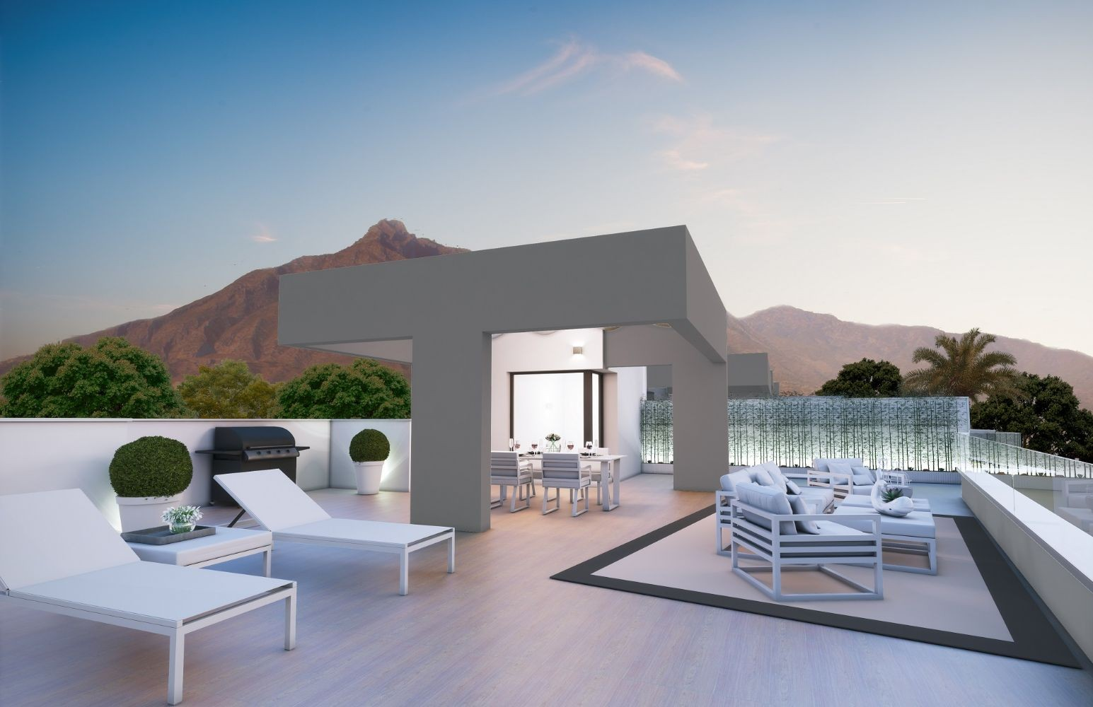 Contemporary Style Apartments in Nueva Andalucia