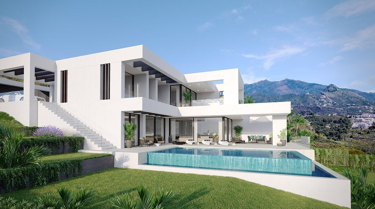 New Golden Mile Luxury Villas with Panoramic Sea Views