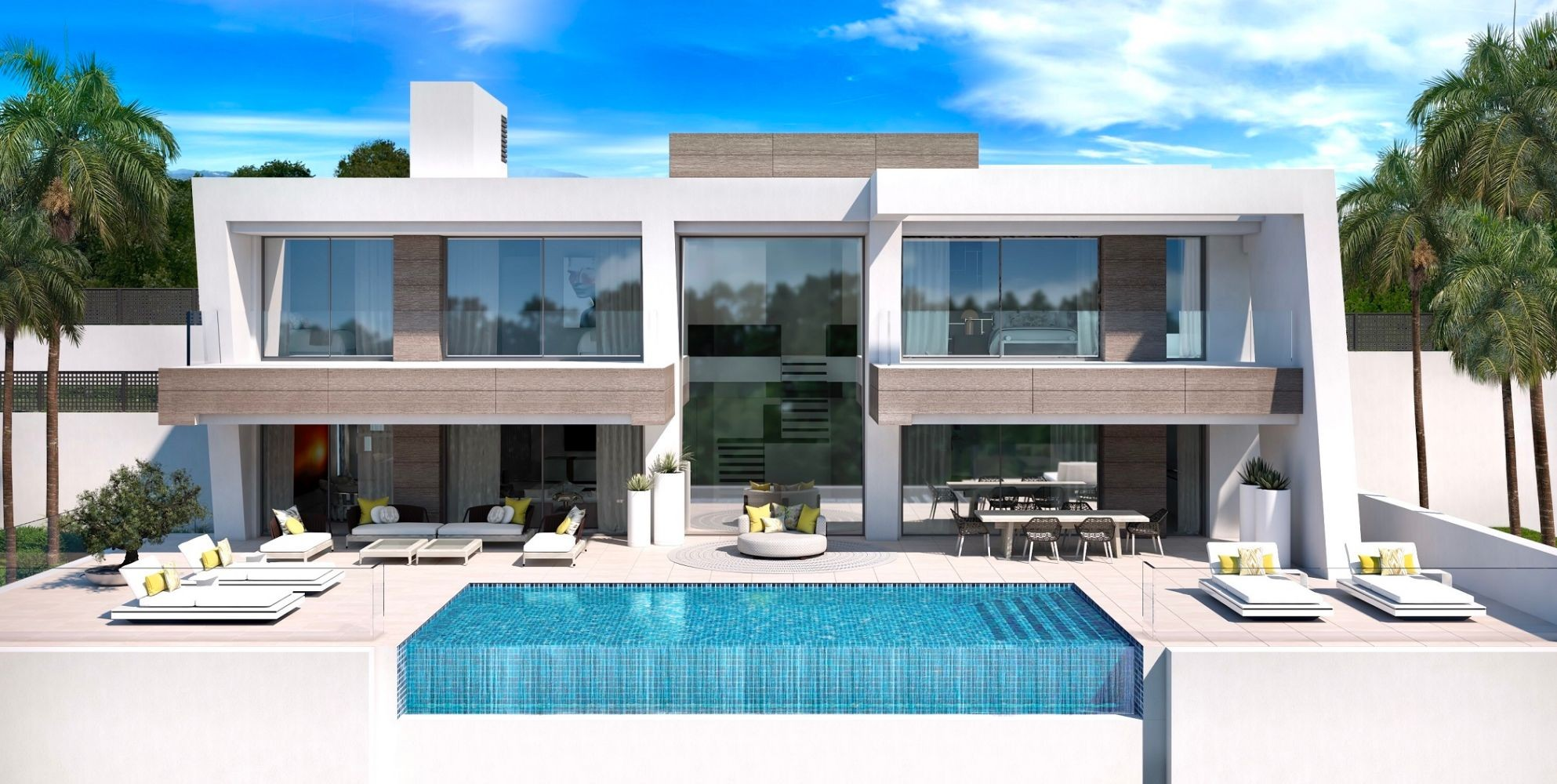 Luxury Modern Villa Project in the New Golden Mile
